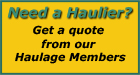 Get a quote to move haulage goods